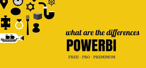 SR analytics - Power BI: Free vs Pro version comparison