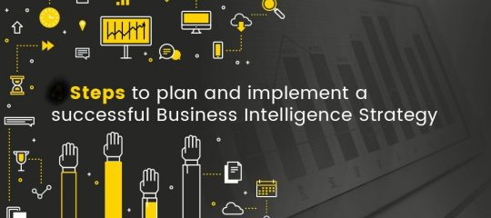 SR analytics - What is a business intelligence strategy & how to build one?
