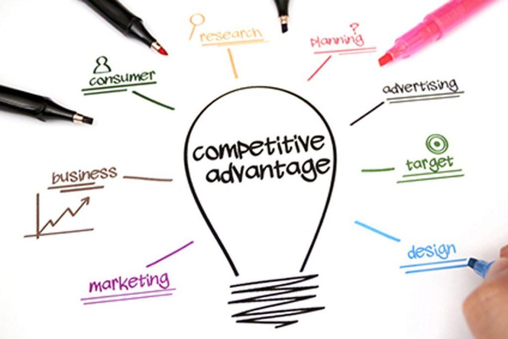 gain competitive advantage in marketing